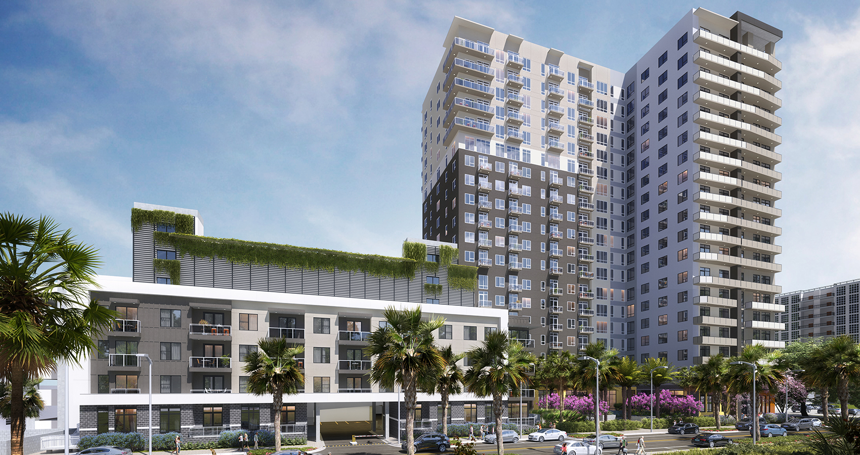 Daniel Corporation - Channelside District Residential Tower